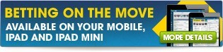 Sports betting on your mobile, iPad, or iPad mini. BET NOW!