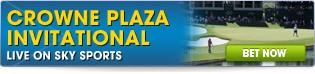 Crowne Plaza Invitational - Click here for all betting