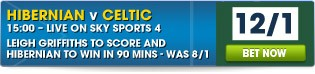 View all our Hibs v Celtic betting