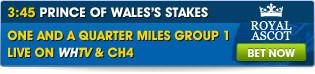 3:45 Ascot - Prince of Wales Stakes - Click here for all betting