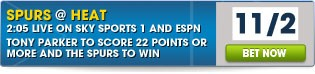 Spurs @ Heat Game 6 - Click her for all betting
