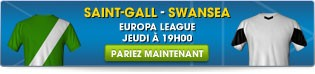 Saint-Gall - Swansea l Europa League