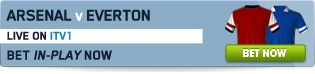 View our full range of Arsenal v Everton betting