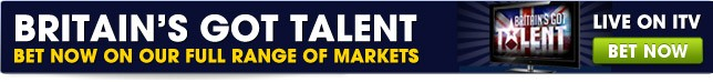 View our full range of Britains Got Talent betting