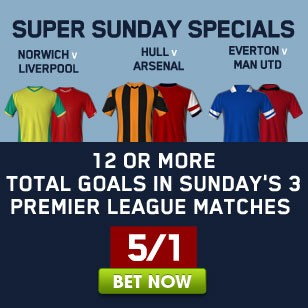 Click here for all Super Sunday Premier League Specials