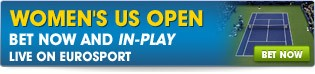 Bet Now and In-Play on the Womens US Open