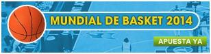 ¡Haz tus apuestas al Mundial de Baloncesto 2014!