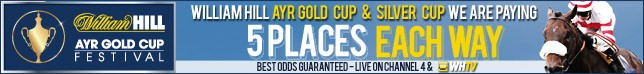 5 Places in the William Hill Ayr Silver and Gold Cups - Click for all betting