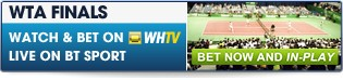 Bet now on the WTA Tour Championships