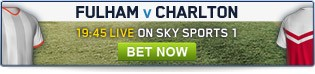Fulham v Charlton - Click here for all pre-match and in-play betting
