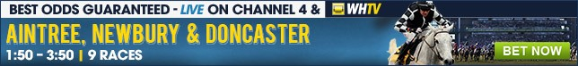 Click here for all betting on todays Channel 4 and WHTV races