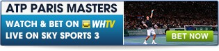 Click here for all prematch and inplay ATP Masters betting