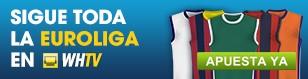 ¡Apuesta a la Euroliga mientras ves los partidos en WHTV!