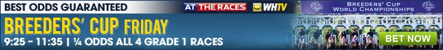 Breeders Cup Friday - Click here for runners and betting