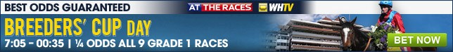 Breeders Cup Day - Click here for betting on all 9 Grade 1 races