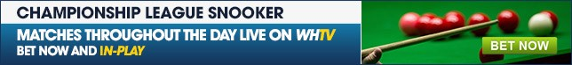 View our full range of Championship League Snooker betting