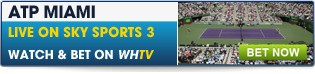Click here for all betting on the ATP Miami