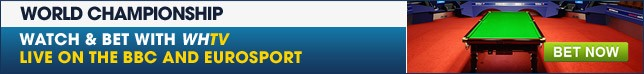 Check out our full range of World Snooker Championship betting