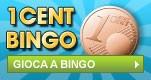 Gioca a Bingo con cartelle da 1 centesimo