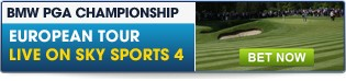 PGA Championship - Click here for our full range of pre-round and in-play markets
