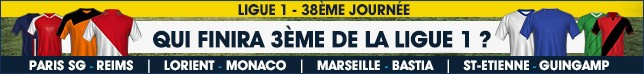 Ligue 1 - 38eme Journee