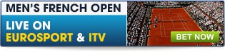 Bet now on the French Open