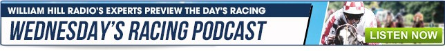 Wednesday Racing Podcast - Listen Now