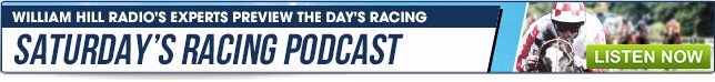 Saturday Racing Podcast - Listen Now