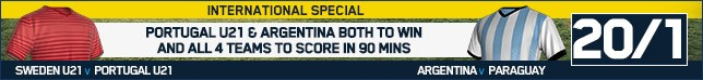 Bet now on our International Special