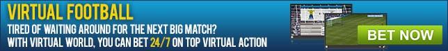 24/7 Football betting with Virtual World