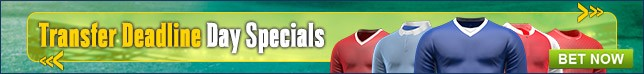 Bet Now on our Transfer Specials