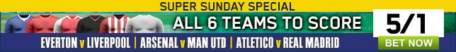Bet now on our great enhanced special