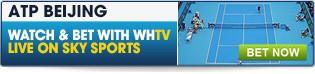 Bet now on ATP Beijing