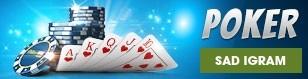 Sad igram Poker