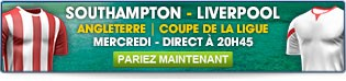 Southampton - Liverpool l Angleterre