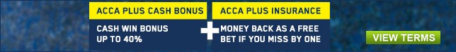 Bet now and earn your Acca Bonus