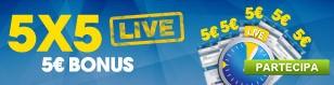 Promo 5X5 LIVE