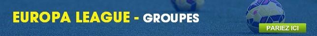 Europa League - Groupes