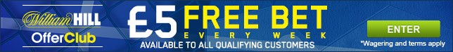 Get a free bet every week