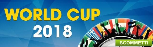 Qualificazioni Mondiali 2018 Scommetti LIVE!