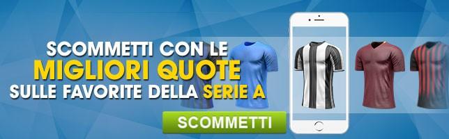 Serie A Migliori Quote sulle Favorite