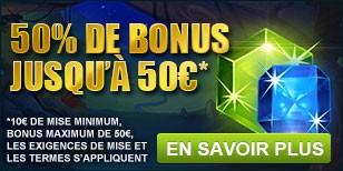 Bonus de 50euros