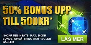 Bonus 500kr