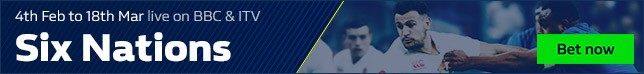 Bet now on the Six Nations 2017