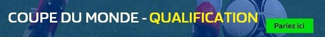 Coupe du Monde - Qualification