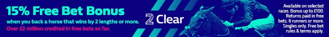2 Clear available every day at selected meeting(s)