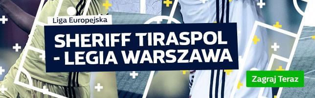Sheriff Tiraspol vs Legia Warszawa 24/08/2017 19:00
