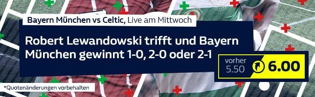 Bayern München vs Celtic