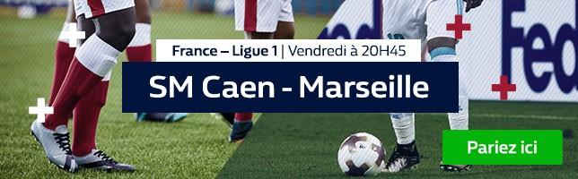 SM Caen ₋ Marseille - Toutes les Cotes!