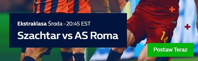 Szachtar vs AS Roma